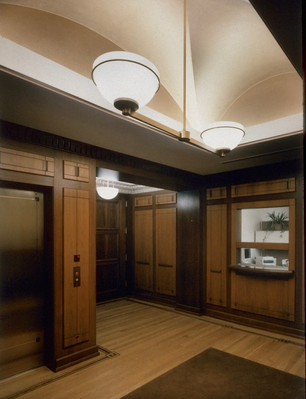 HEADQUARTERS LOBBY - CHICAGO DISTRICT COUNCIL OF CARPENTERS