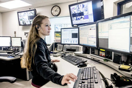 911 CENTER - ILLINOIS STATE POLICE, COOK COUNTY SHERIFFS POLICE