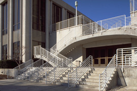 LOYOLA UNIVERSITY CHICAGO - STUDENT CENTER ENTRANCE