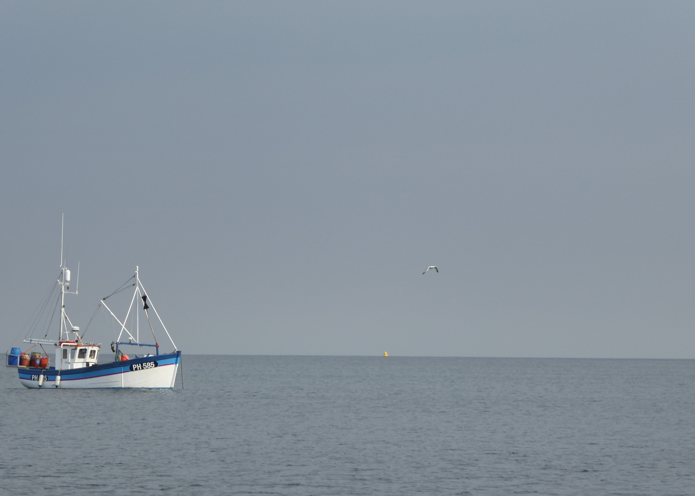 Trawler off Kingsand and Cawsand