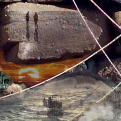 Windblown Egret 40x40 detail 2