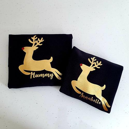 Personalised Reindeer Jumper