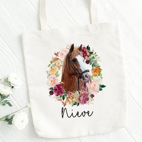 Personnalised Horse Tote Bag