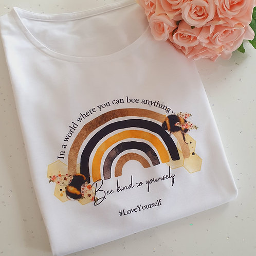 Bee Kind To Yourself T-Shirt Kids/Adults