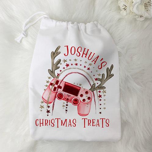 Christmas Gamer Treat Bag