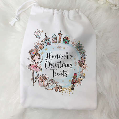 Personalised Christmas Bag