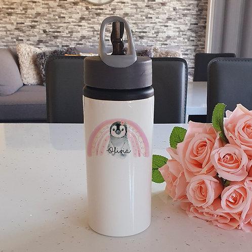 Personalised Penguin Water Bottle
