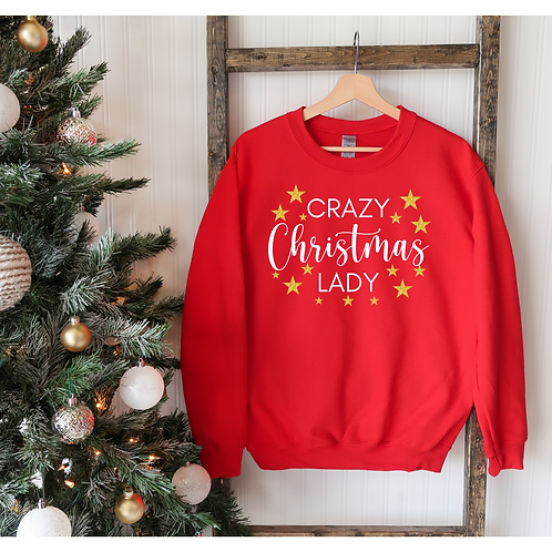 Crazy Christmas Lady Sweater More Colours
