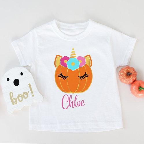 Unicorn Pumpkin T-Shirt
