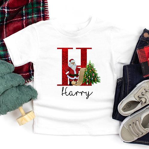 Personalised Santa T-Shirt