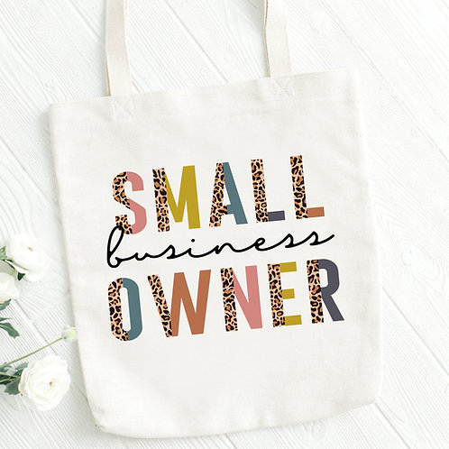 Small Business Owner Tote Bag