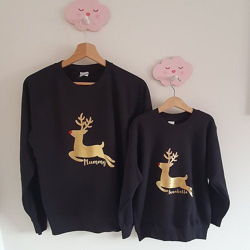 Personalised Rudolph Jumper