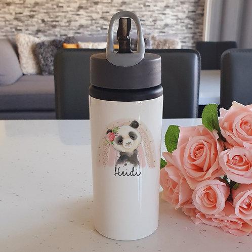 Personalised Panda Water Bottle