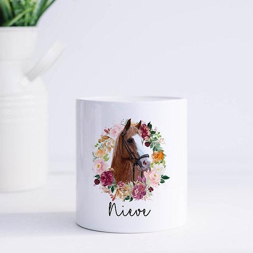 Personalised Horse Money Box