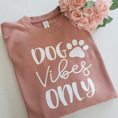 Dog Vibes Only Sweater