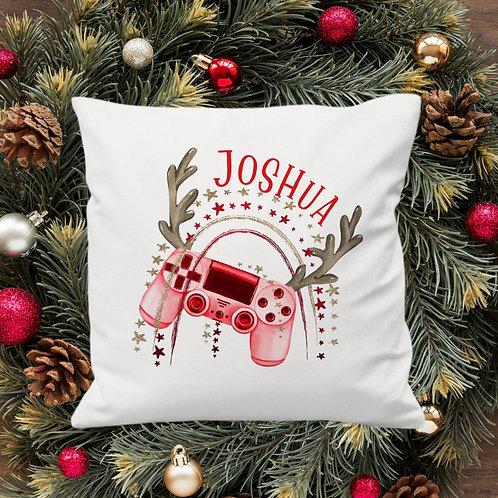 Christmas Gamer Cushion