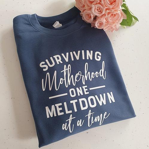 Surviving Motherhood Sweater