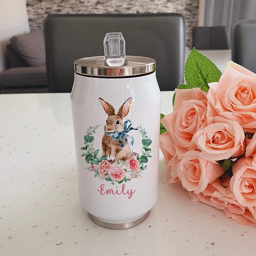 Personalised Rabbit Water Bottle