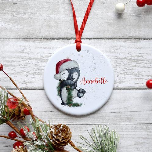 Christmas Penguin Bauble