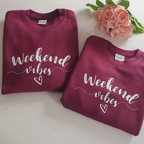 Weekend Vibes Sweater