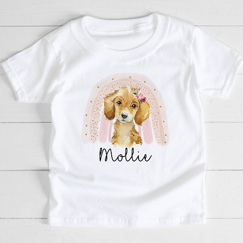 Personalised Puppy T-Shirt
