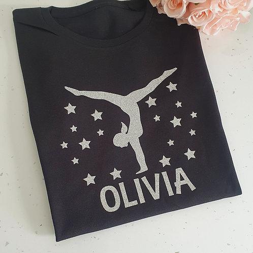 Personalised Gymnastics T-Shirt