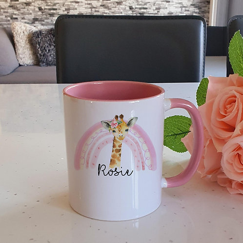 Personalised Giraffe Mug