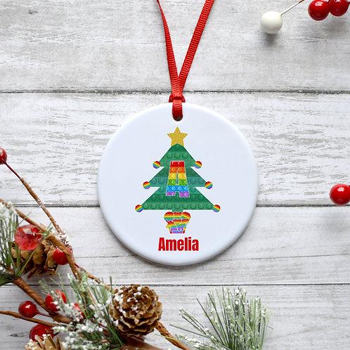 Fidget Christmas Tree Bauble