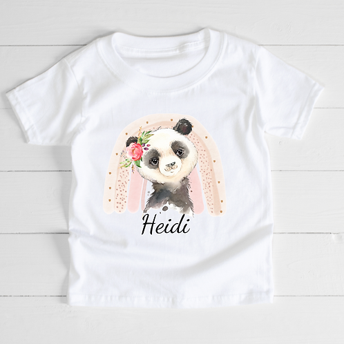 Personalised Panda T-Shirt