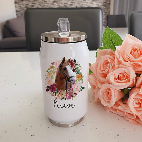 Personalised Horse Cooler Can
