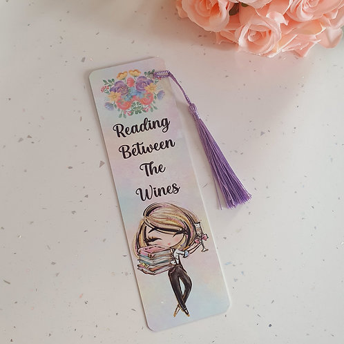 Reading Beween The Wines Bookmark