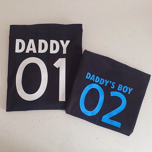 Personalised Father's Day T-Shirts