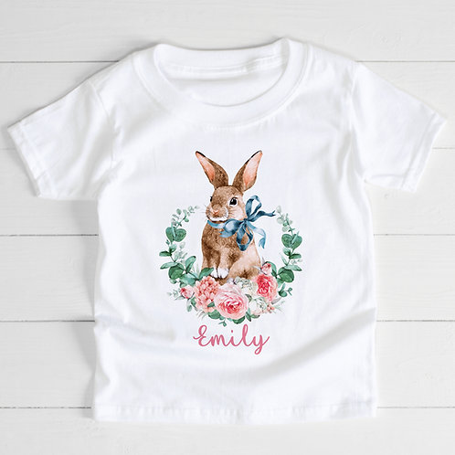 Personalised Rabbit T-Shirt