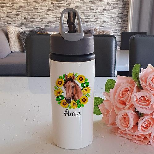 Personalised Horse Water Bottle