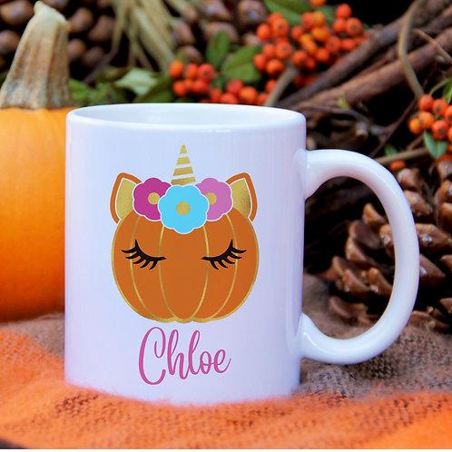 Unicorn Pumpkin Mug