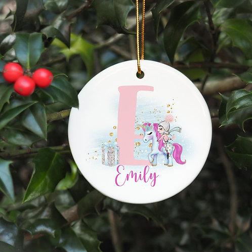 Personalised Christmas Bauble
