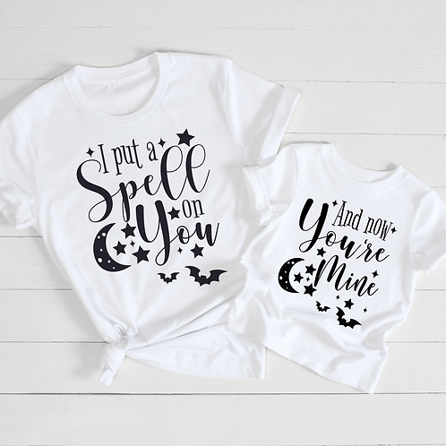 I Put A Spell On You Twinning T-Shirts