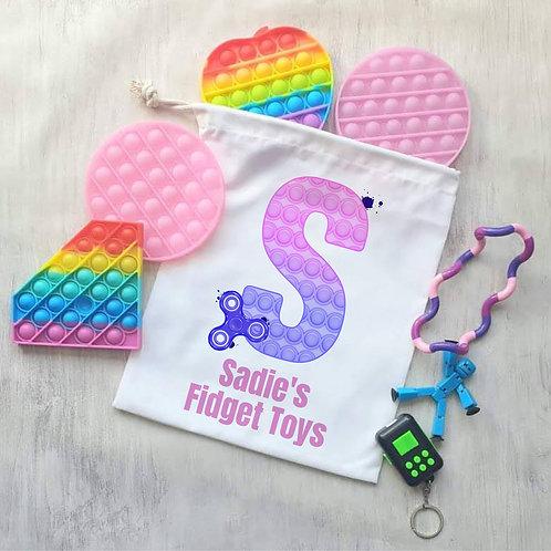 Personalised Fidget Bag