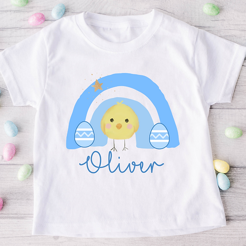 Personalised Easter Chick T-Shirt
