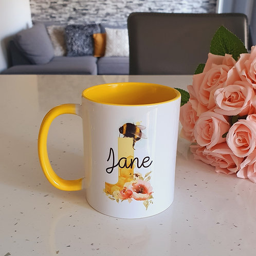 Personalised Bee Mug