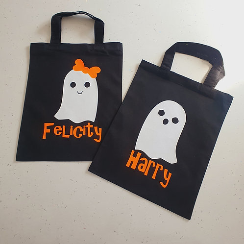 Personalised Trick Or Treat Bag