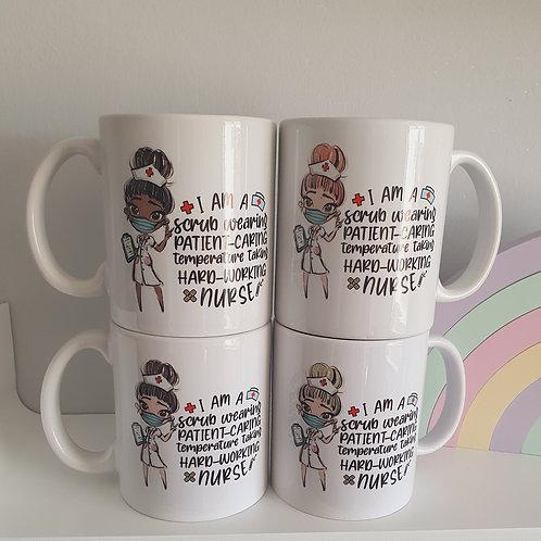 NHS Nurse Mug