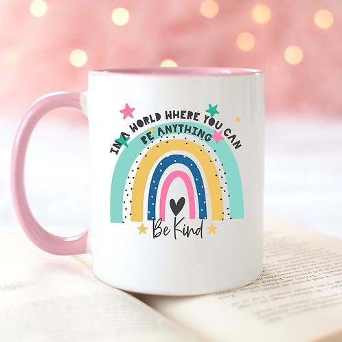 Be Kind Rainbow Mug