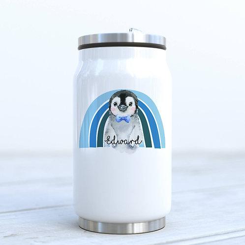 Personalised Penguin Drinks Bottle