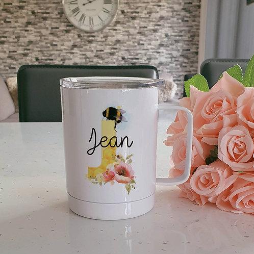 Personalised Bee Coffee Mug