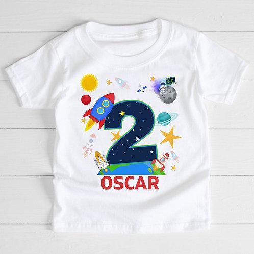 Personalised Rocket T-Shirt