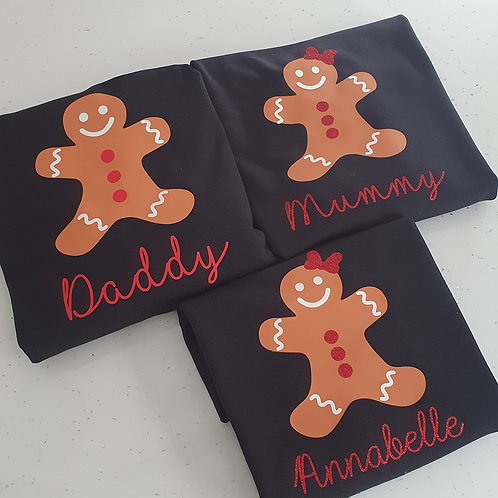 Gingerbread Christmas Jumpers