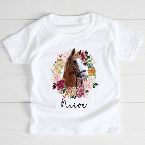 Personalised Horse T-Shirt