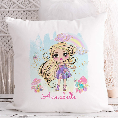 Summer Girl Cushion More Characters
