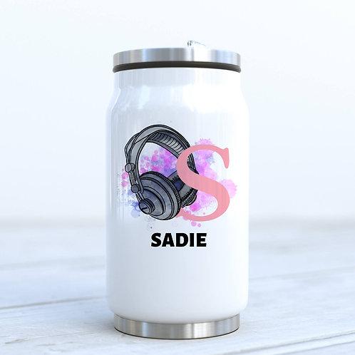 Personalised Gamer Girl Drinks Bottle